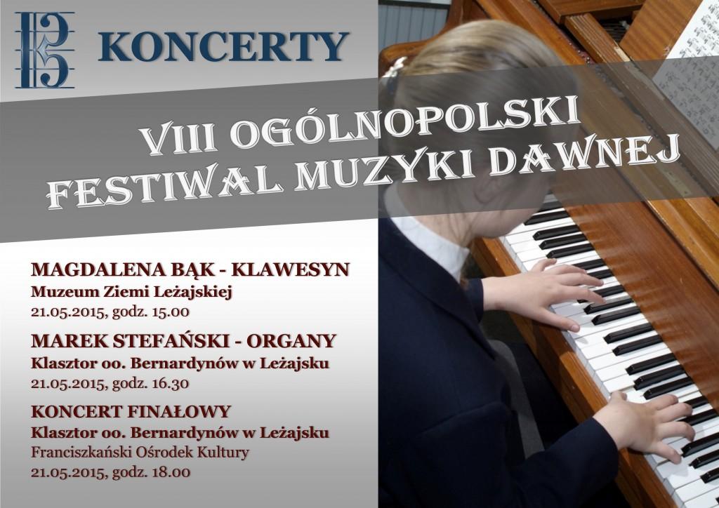 Koncerty i prezentacje 2015